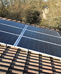 panneaux solaires sur toiture autoconsommation
