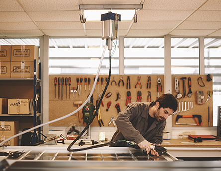 Fabrication panneaux Cogen'Air