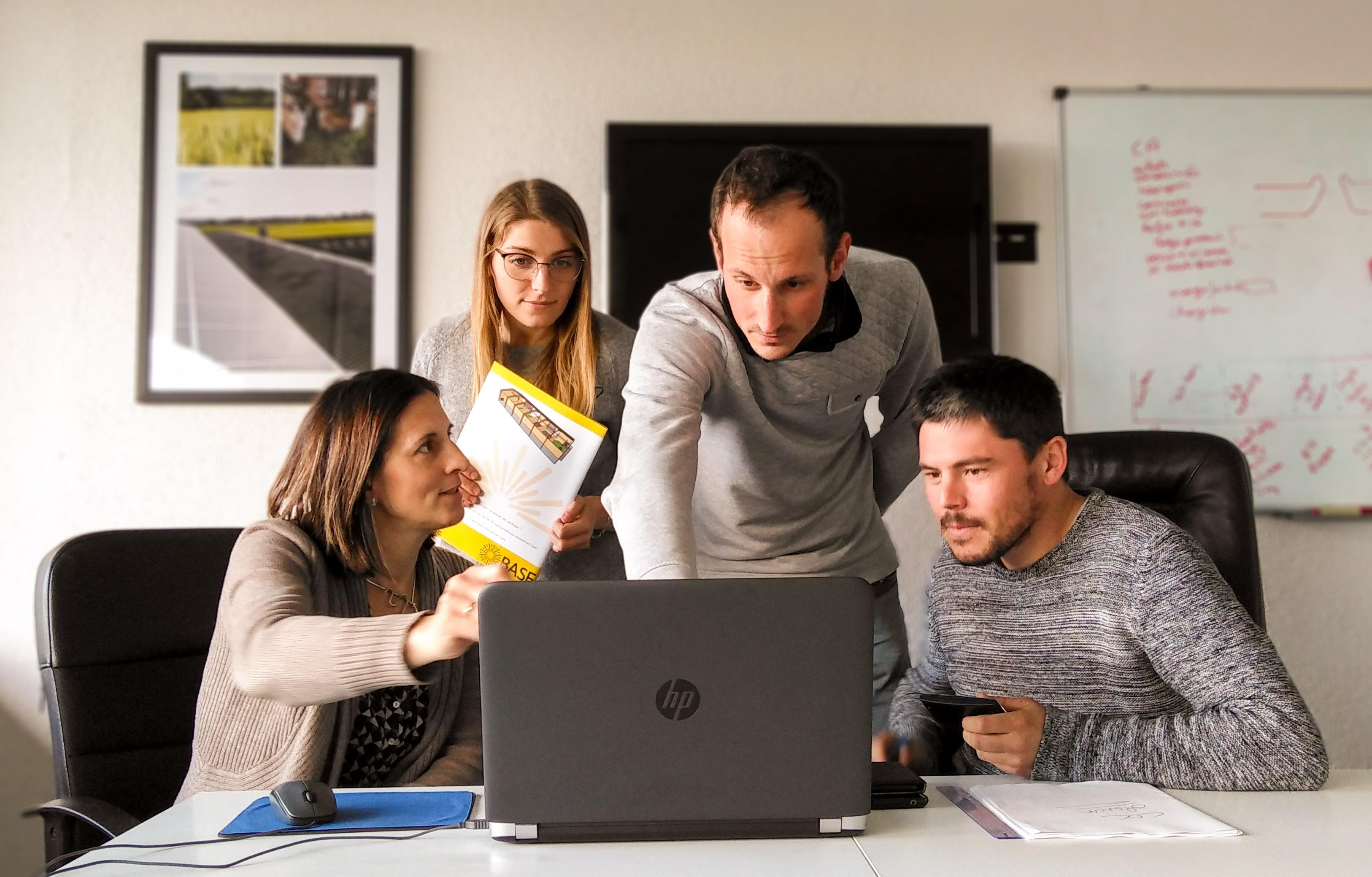 équipe du bureau d'études BASE