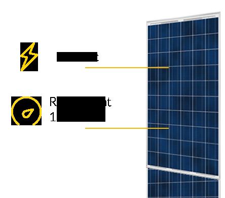 rendement panneau solaire classique