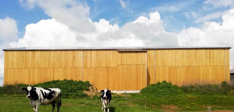 Inauguration du séchoir en grange