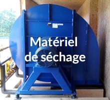 équipements et matériel pour séchoir en grange