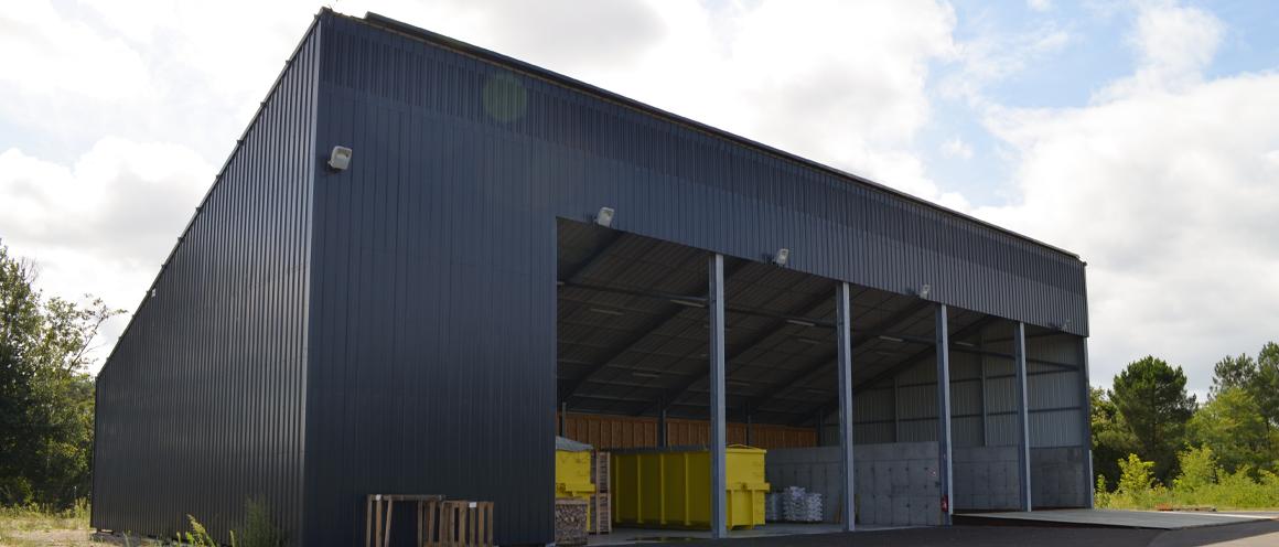 séchoir pour la valorisation de biomasse en Gironde