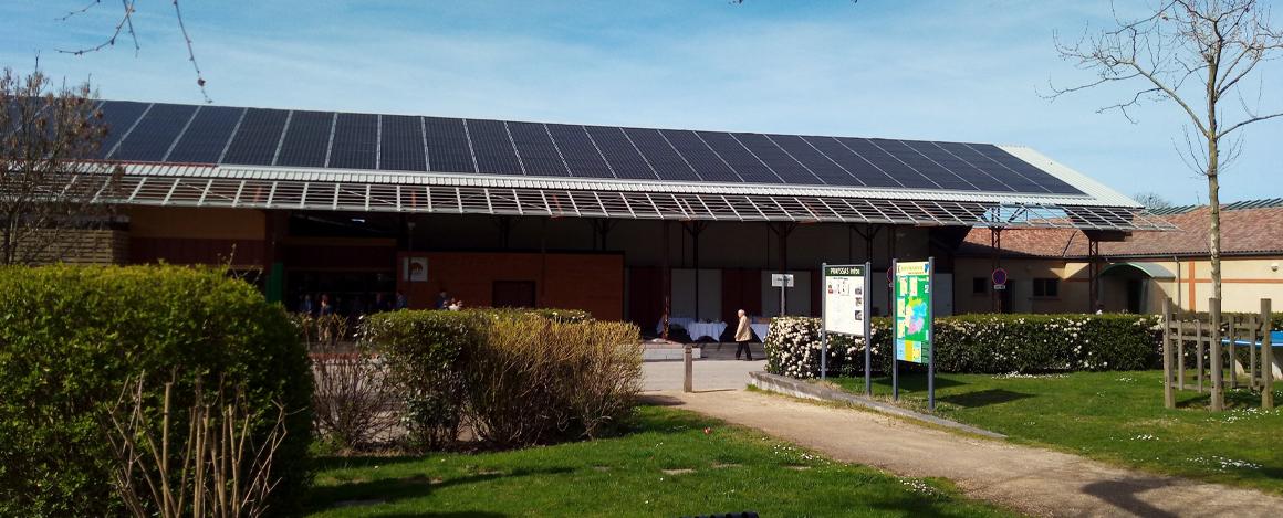 ventilation solaire d'une collectivité
