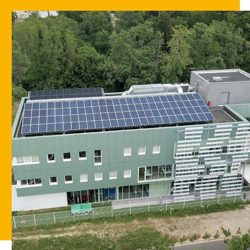 bâtiment professionnel solaire