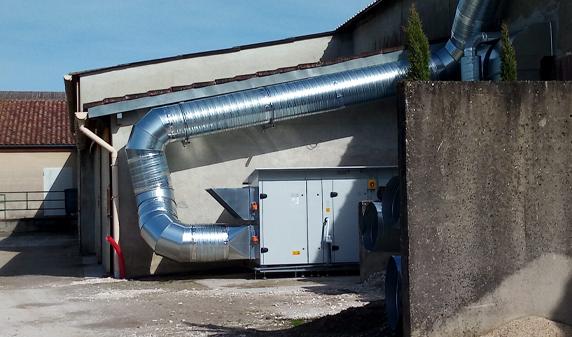 centrale à traitement d'air