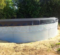 pompage solaire via réserve d'eau