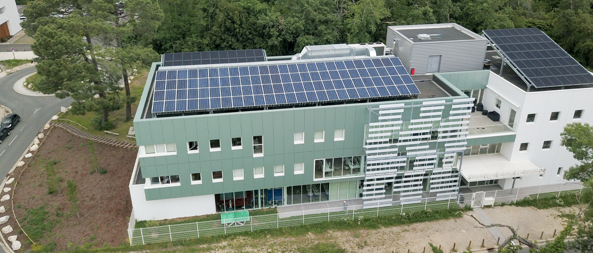 INHNI de Pessac - ventilation solaire