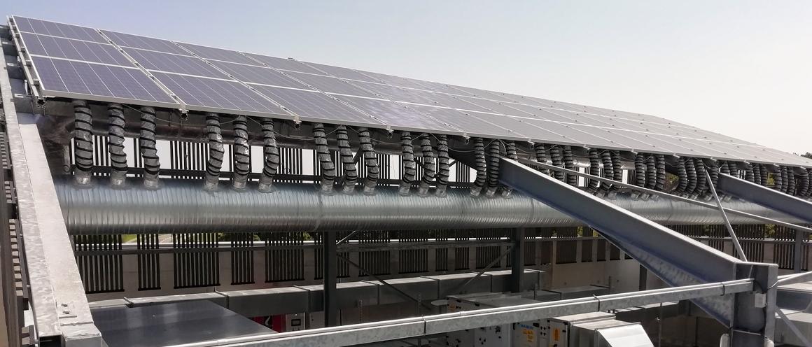 centrale Thermovoltaïque pour renouvellement d'air
