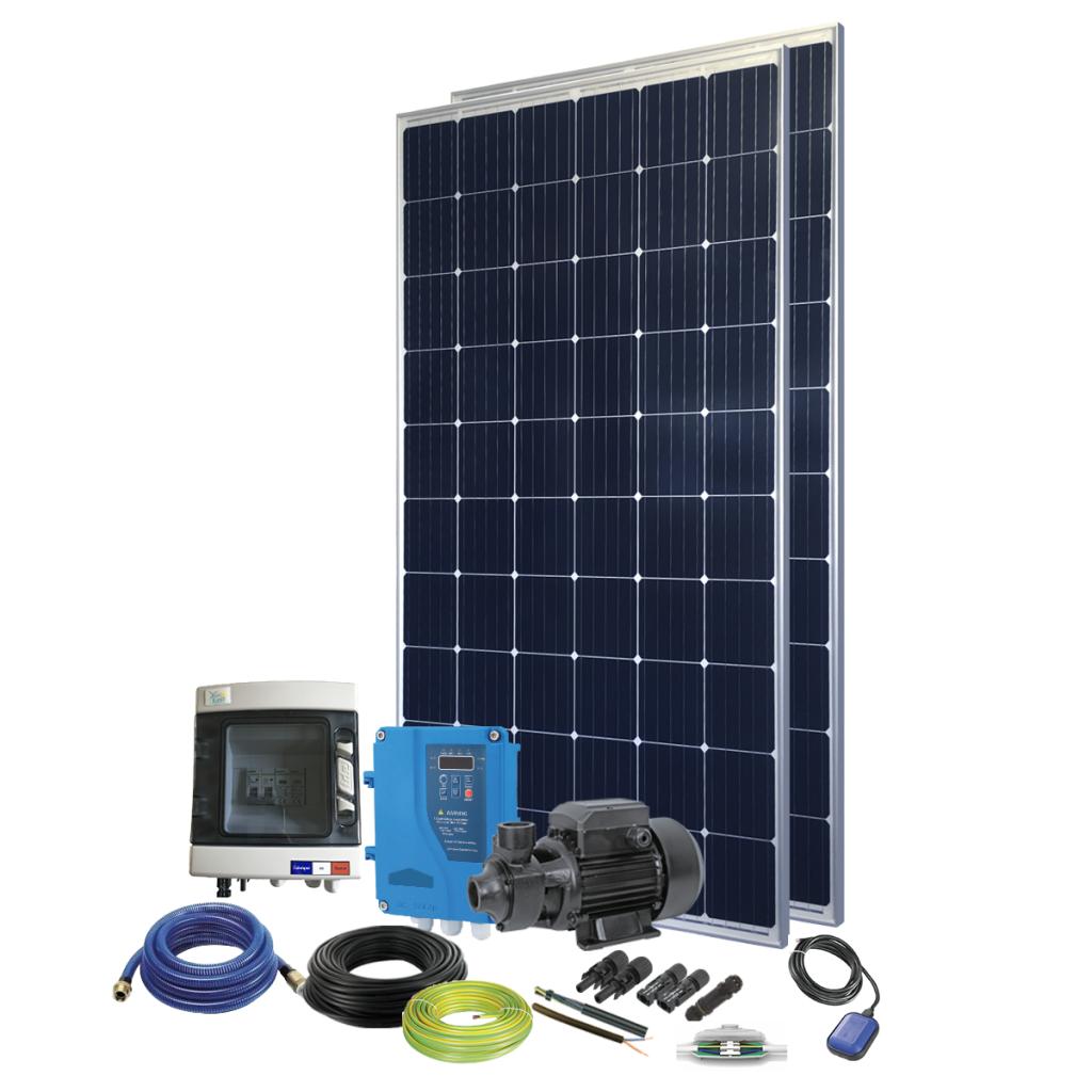 Kit pompe solaire immergée 80W Sellande