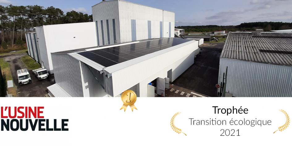 Trophée du prix transition écologique 2021