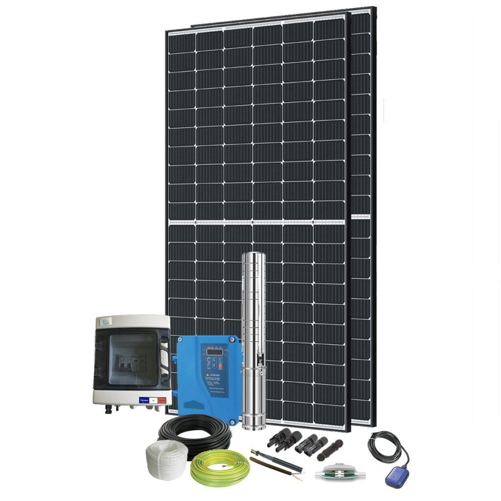 Kit pompe solaire immergée 300W
