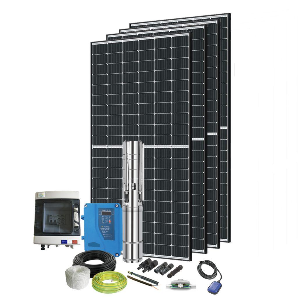 kit pompe solaire immergée 600W