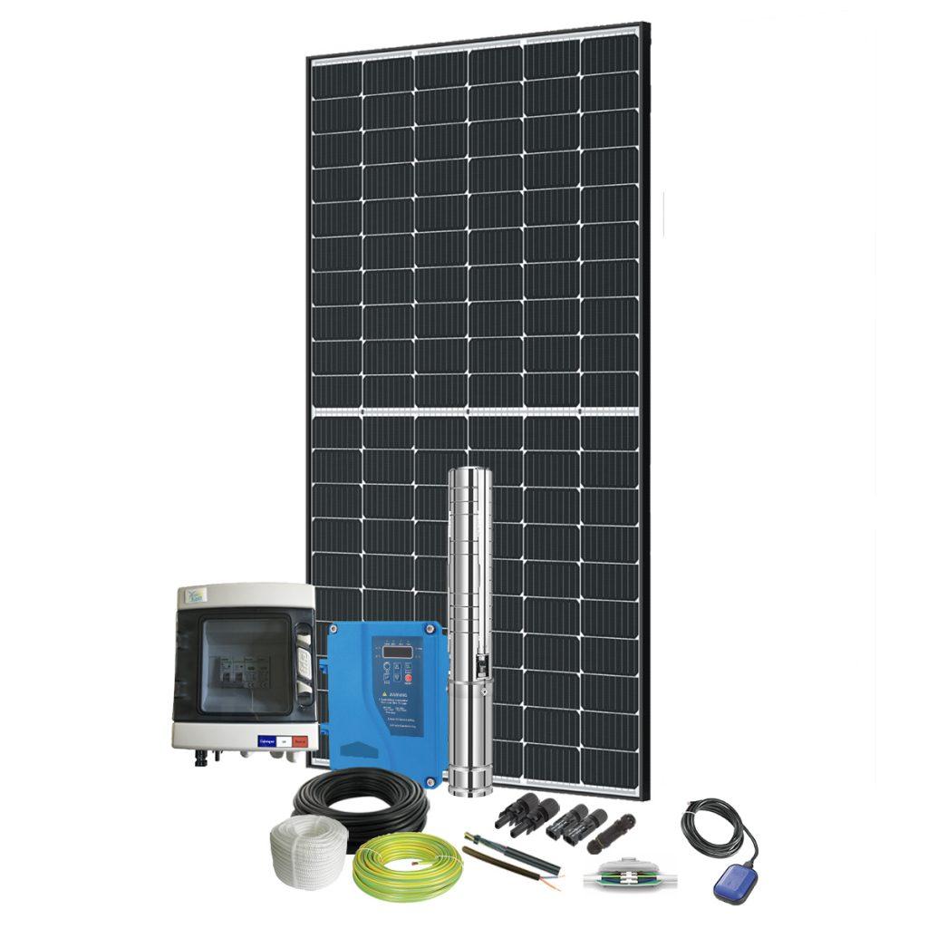 kit pompe solaire immergée 80W
