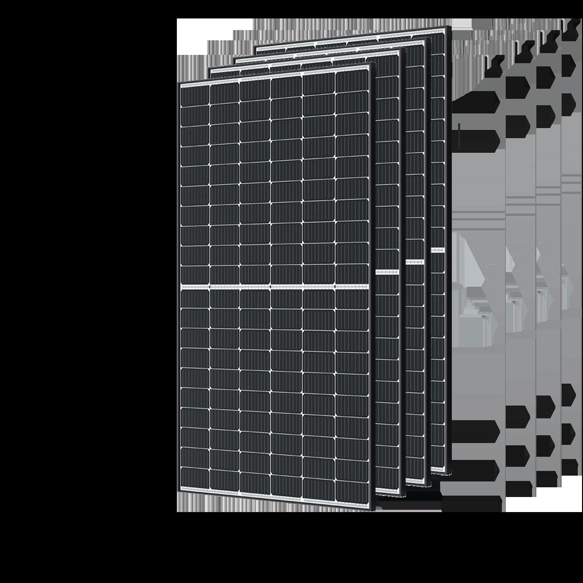 paneaux solaires monocristalins x4
